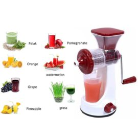 Manual Fruit Vegetable Juicer with Juice Cup and Waste Collector