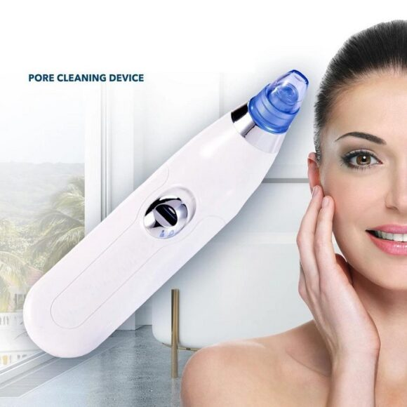 4 In 1 Blackhead Whitehead Extractor Remover Device Acne Pimple Pore Cleaner Vacuum Suction Tool