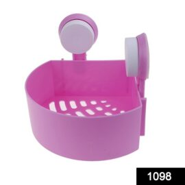 Corner Shelf Multipurpose Tray with Suction Cup