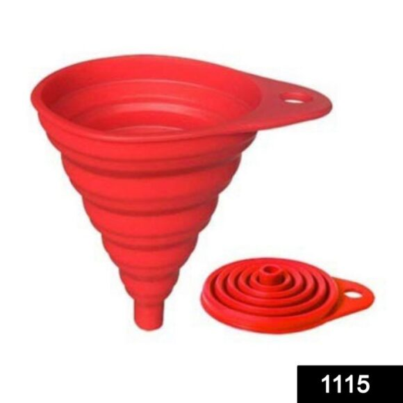 Silicone Collapsible Funnel Kitchen for Flexible Extension