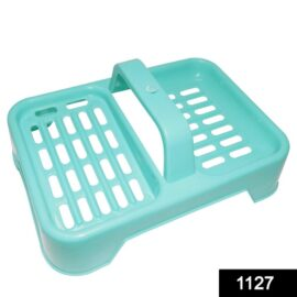 1127 2 in 1 Soap keeping Plastic Case for Bathroom use 1