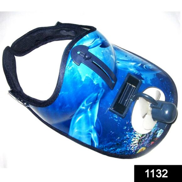 1132 Multifunctional Hat with Sun Glass & Cooling Fan for Adults and Kids 1