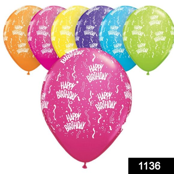 1136 Balloon Pack for Birthday Party Decoration & Occasions 100 pcs 1