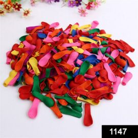 1147 Non Toxic Holi Water Balloons Pack of 500 Balloons Multicolour 1