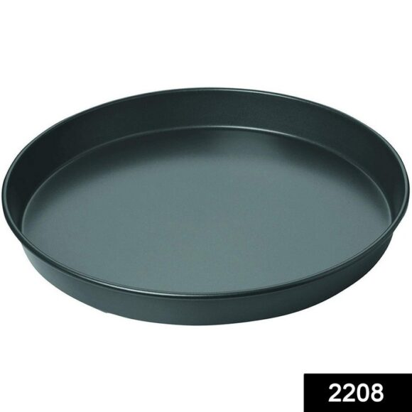Steel Non-Stick Round Plate Cake Pizza Tray Baking Mould