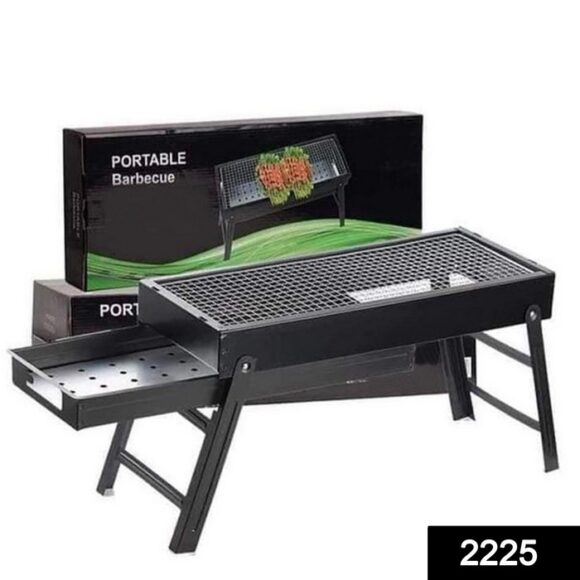 Folding Portable Barbeque BBQ Grill Set for Outdoor and Home