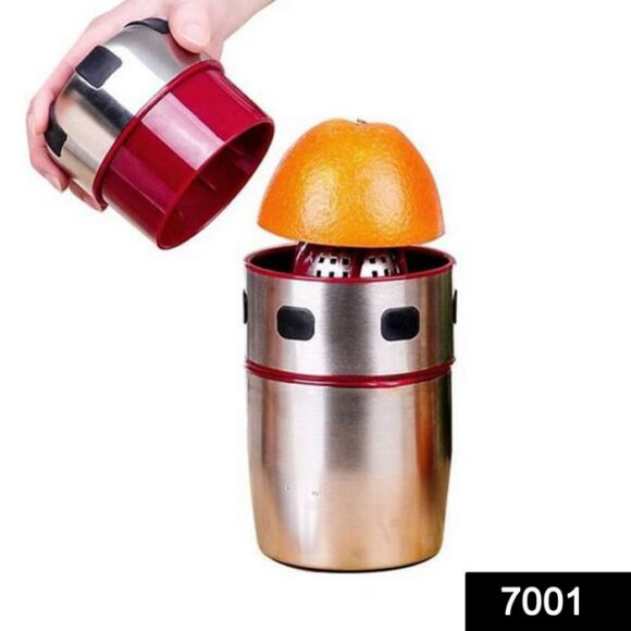 Manual Hand Portable Juicer with Strainer and Container